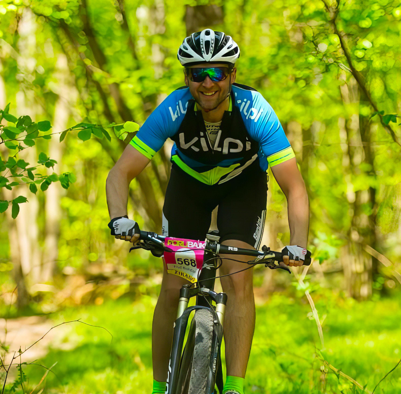 Úspěšný klient Bohdan Fryc (Bike Club Ostrava - Kilpi racing team)